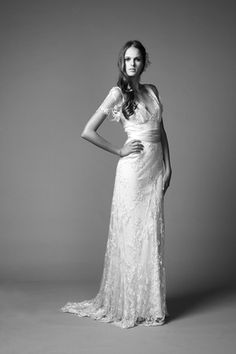 Wedding dress by Alice Temperly. :)  #englishknowbest