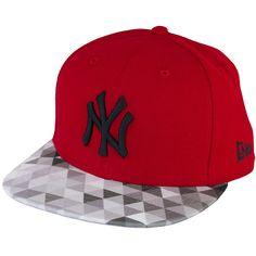 New Era Trainbow Cap NY Yankees scarlet