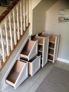Photos of Under Stairs Storage & Attic Storage | CleverClosets.ie #kitchendesignunderstairs