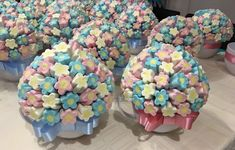 Ideas Para Fiestas, Birthday Cake, Confetti, Candy, Sweet, Marshmallows, Candy Stations, Sweet 15, Goodies