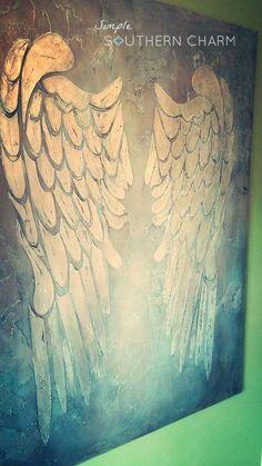 DIY Angel Wings   Simple Southern Charm