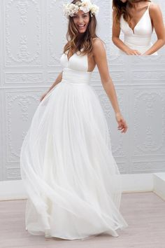 Wedding Dresses,Wedding Dress,White Wedding Dresses,Backless Wedding Gowns,Long Wedding