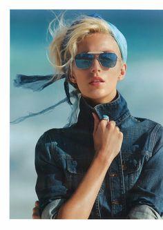Anja Rubik for Vogue Paris - April 2012