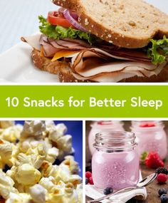 Having trouble sleeping? Try one of these 10 Simple Snacks for Better Sleep.