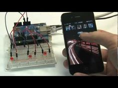 ▶ control arduino using iphone - YouTube