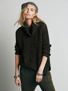 0b9a89828aba1 Free People Dylan Tweedy Pullover at Free People Clothing Boutique