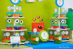 My Party Ideas Collections: Monster birthday party theme -Will bday