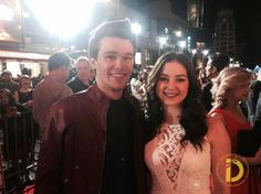 Sarah Gilman & Peyton Clark: Disney's 'Big Hero 6' Premiere