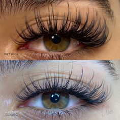 Types Of Eyelash Extensions, Eyelash Extensions Classic, Volume Lash Extensions, Natural Looking Eyelash Extensions, Natural Fake Eyelashes, Perfect Eyelashes, Fake Lashes, Wispy Lashes, Eye Makeup Designs
