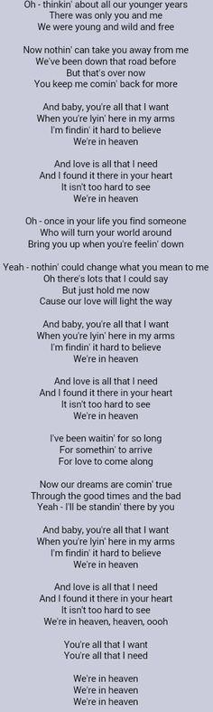 Bryan Adams . Heaven