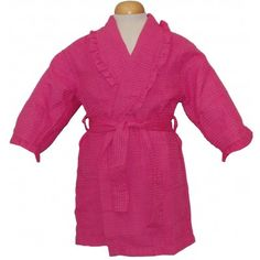 Pendergrass Children's Ruffled Cover-Ups #bathrobeshoppe www.bathrobeshoppe.com
