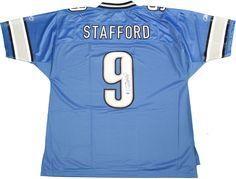 Matthew Stafford Signed Detroit Lions Reebok EQT Jersey (Athlon Sports Auth)