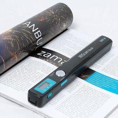 Wireless Book Scanner by IRIScan