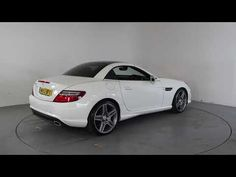 MERCEDES-BENZ SLK 250 CDI BLUEFFICIENCY AMG SPORT AUTO - Air Conditioning - Alloy Wheels - Panoramic Roof - Full Leather Interior | In white with ...