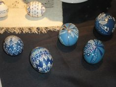 Blue and Gold eggs