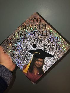 , Kelly from The Office graduation cap dec. - , Kelly from The Office graduation cap dec. Funny Graduation Caps, Graduation Cap Designs, Graduation Cap Decoration, Graduation Diy, High School Graduation, Graduate School, Graduation Outfits, Graduation Quotes, Graduation Announcements