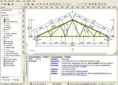 Fine Limited has developed TRUSS4 version 7. This construction program supports windows platform. One can use TRUSS4 to make analysis of timber truss structures attached with punched metal plate fasteners.