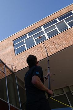 Commercial window cleaning - http://www.asteroidcleaningsolutions.com/
