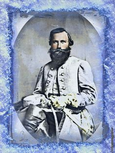 The Civil War Parlor  Confederate Cavalry Commander, General J.E.B. Stuart