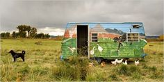 Zephyros Farm and Garden | Organically Grown and Crafted in Paonia Colorado. Like the mural!