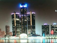 Detroit Ren Centre Breast cancer awareness October