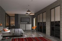 Handmade Fitted Wardrobes, Grey Fitted Wardrobes, Traditional Fitted Wardrobes, Sliding Wardrobe, Grey Stone, Brown And Grey, Faux Fur, Layout, Style Inspiration