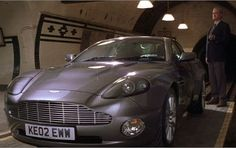 """As introduced by John Cleese, playing Q, """"Aston Martin call it the Vanquish, we call it the Vanish."""" Die Another Day put Bond in an Aston Martin V12 Vanquish, complete with an invisibility cloak that has been widely quoted as the most ridiculous gadget in a James Bond film."""
