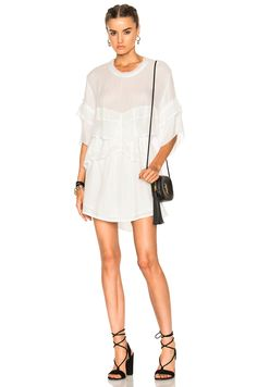 Image 1 of IRO Ceclie Dress in White