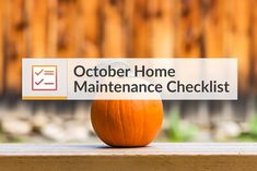 October Home Maintenance Checklist   Monthly Home Maintenance