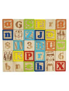 Jeu de 30 cubes en bois Natural Cuboland MULTICOLORE - Imaginarium 24.95 euros