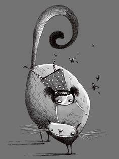 ilustración de Conrad Roset