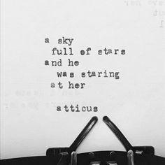 #atticuspoetry #atticus #poetry #loveherwild #stars @laurenholub