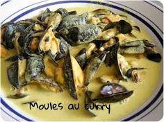 """Résultat de recherche d'images pour """"recette moules au curry"""""""