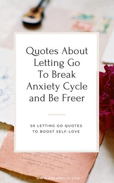 Letting go of what you can't control or letting someone you love after a breakup in relationships can be incredibly difficult. If we want to live a happy and fulfilling life, choose to let go. Loving and letting go is the key. Here are 50 quotes for letting go, spiritual growth quotes, and self love inspiration to help you moving forward and improve life. Letting Go Quotes, Go For It Quotes, Letting Go Of Someone You Love, Let It Be, Improve Yourself, Finding Yourself, Make It Yourself, Spiritual Growth Quotes, After Break Up