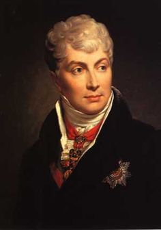 """""""Graf Klemens von Metternich"""" (Sir Thomas Lawrence, c1830, oil on canvas). This is the companion of an earlier portrait (from about 1815) of the great Austrian prime-minister (1809-48), and nemesis of Napoleon I, Klemens Wenzel Wenzel Nepomuk Lothar, Prince of Metternich-Winneburg zu Beilstein)"""
