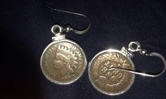 Beautiful Wheat Penny with sterling silver by Harleychainmelodies