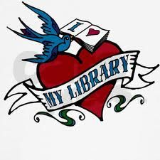 Library love...in tattoo form! #tlchat #aslachat  repinned by Jenifer Daniels