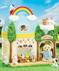 Love This Bilingual Rainbow Nursery School By Calico Critters On Zulily Zulilyfinds Dollhouse