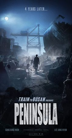 PENINSULA takes place four years after the zombie outbreak in TRAIN TO BUSAN. The Korean peninsula is devastated and Jung-seok, a former soldier who has managed to escape overseas, is given a mission to go back and unexpectedly meets survivors. 2020 Movies, Hd Movies, Horror Movies, Movies To Watch, Movies Online, Movie Tv, Action Movies, Film D'action, Bon Film
