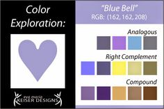 Eva Maria Keiser Designs: Explore Color:  Blue Bell *** Bottom Browns esp. Middle One !!! *****   THIS COLOR IS MY COLOR   !!!!!