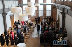 Meagan and Ryan's Wedding at Kitchen Chicago and City View Loft - MDM Entertainment Chicago Wedding Venues, Unique Wedding Venues, Loft Wedding, Walking Down The Aisle, Entertainment, City, Kitchen, Beautiful, Cooking