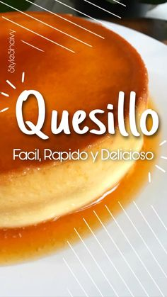 Best Flan Recipe, Deli Food, Tasty, Yummy Food, Latin Food, Food Humor, Summer Desserts, Kitchen Recipes, Chocolate Recipes