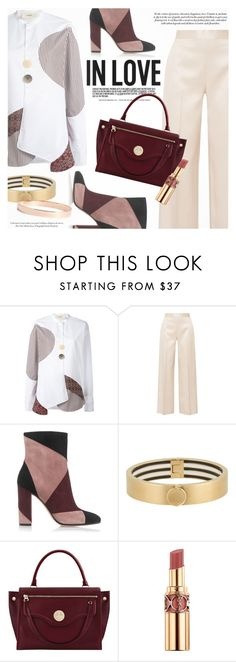 """""""In Love Personal Style"""" by a-a-nica ❤ liked on Polyvore featuring Ports 1961, The Row, Gianvito Rossi, Henri Bendel, Hill & Friends, Yves Saint Laurent and Lana Jewelry"""