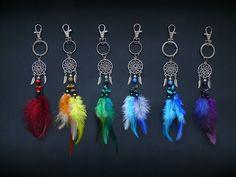 Dreamcatcher keychain purse charm bag charm by DeiDreamCatchers