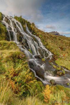 Brides Veil Waterfall on the Isle of Skye, Scotland
