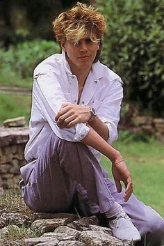 In 1985 I was fairly certain that John Taylor was going to come to Oklahoma and somehow find me and fall madly in love with me. Ah, the teenage fantasy! Nigel John Taylor, Roger Taylor, Nick Rhodes, Simon Le Bon, Cool Bands, Great Bands, Birmingham, Kat Williams, Blonde Bangs