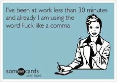 I think one of my coworkers made this ecard about me!