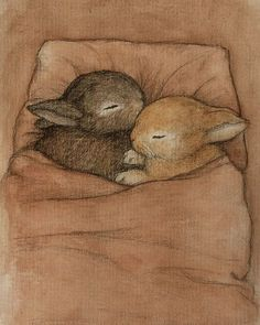 wasbella102:   Baby Bunnies by moussee