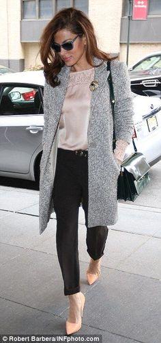 Eva mendes - ladylike coat