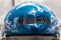 Boeing 777 KLM Litomysl Castle